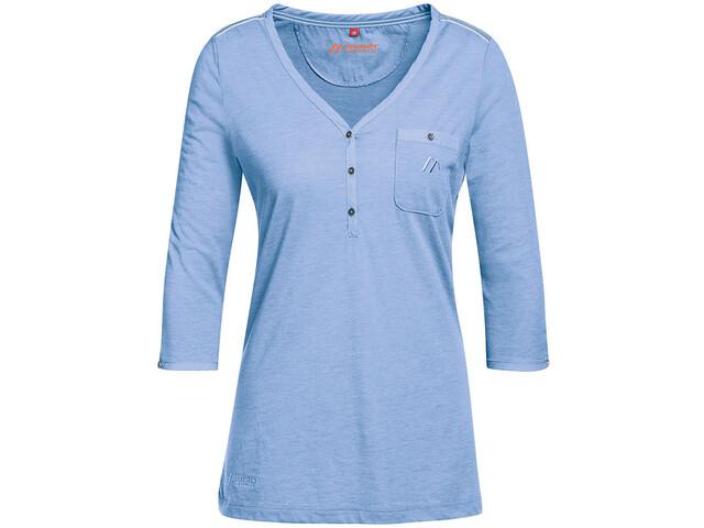 Maier Sports Clare - Camiseta manga corta Mujer - azul